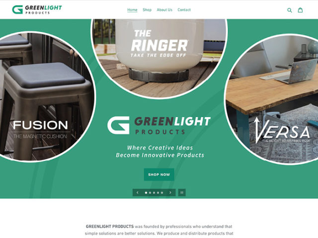 Greenlight Website Design