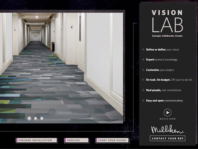 Vision Lab Interactive Brochure